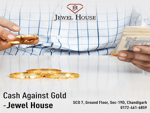 Cash against gold, instant cash for gold in chandigarh