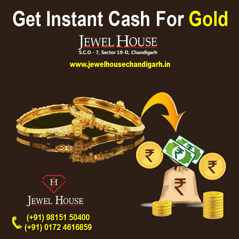 Instant cash for gold in Chandigarh